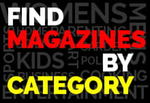 Magazine Subscription Categories