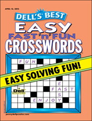Dell's Easy Fast 'n' Fun Crosswords0